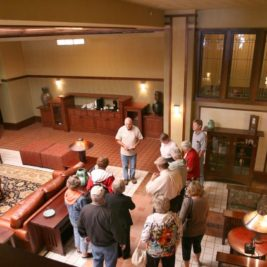 Frank Lloyd Wright's Historic Park Inn and City National Bank Tours