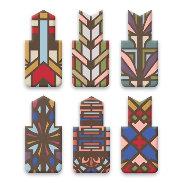 Frank Lloyd Wright Magnetic Bookmark Designs