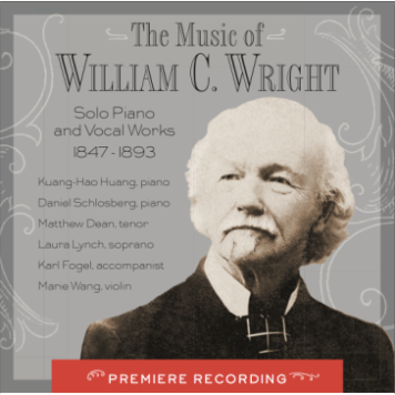music-of-william-c-wright-solo-piano-and-vocal-works-audio-cd-frank-lloyd-wright